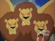 Three Headed Winged Lion