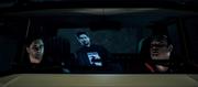 Barry i Alan w samochodzie