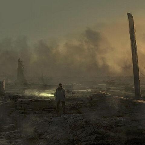Grafika koncepcyjna z zawieszonego Alan Wake 2