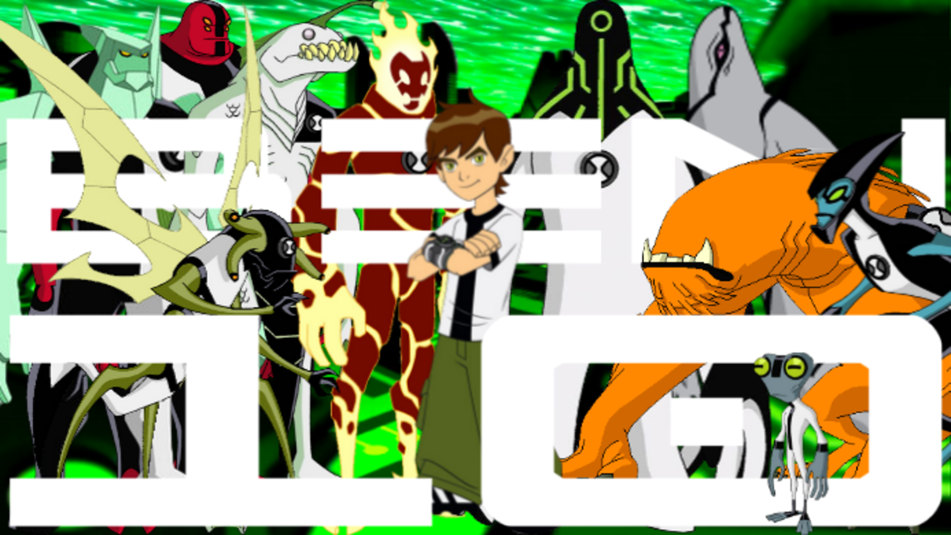 Ripjaws Ben 10 Title Card