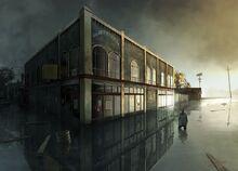 Alan Wake 2 concept art flood