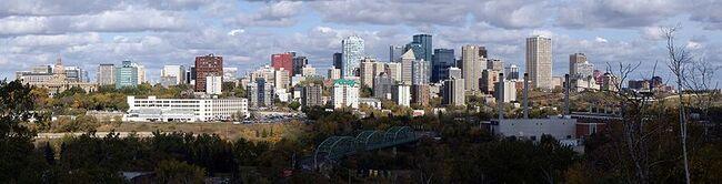 Edmonton Skyline Panorama