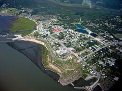 Fort Chipewyan aerial