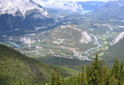 Banff from Sulphur Mtn 2005