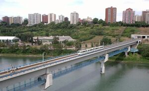 Edmonton Dudley B Menzies Bridge