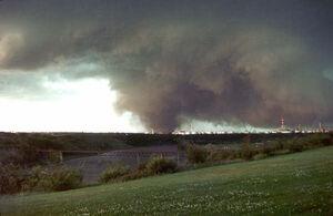 Edmonton tornado