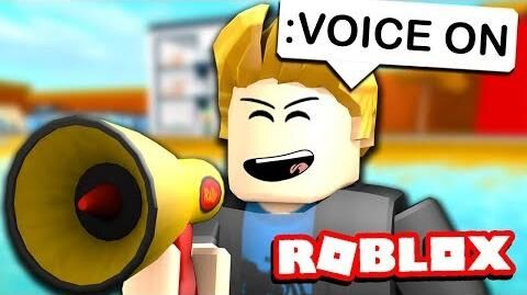 roblox games that have voice chat