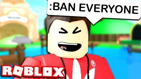 BANNING PEOPLE WITH ROBLOX ADMIN COMMANDS-0