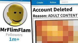 My Roblox account is permanently deleted