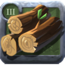 Chestnut Logs 3 Tier