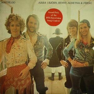 ABBA - Waterloo (Original Polar LP)