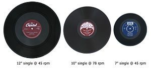 3 vinyl singles