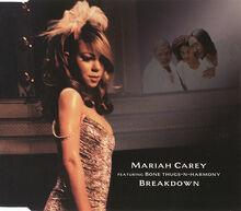 Mariah Carey Breakdown AUS single