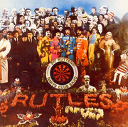Sgt rutters only darts club band