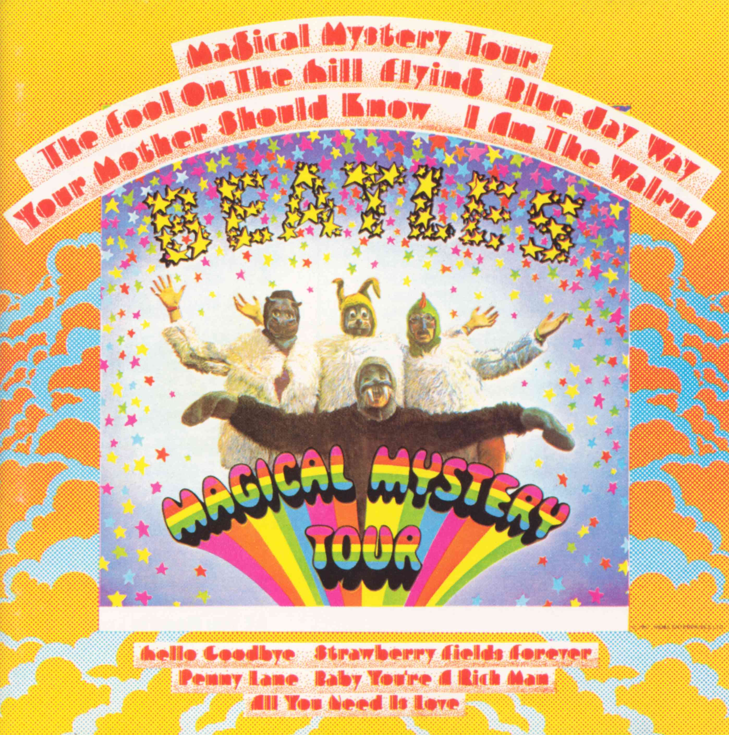 Magical Mystery Tour (US) | Album Covers Wiki | Fandom
