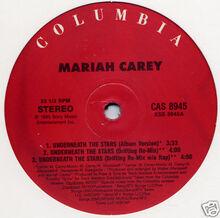 Mariah Carey UTS vinyl