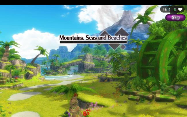 Mountains, seas and beaches