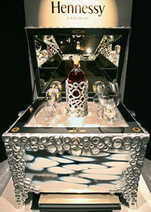 Cognac hennessy beaute du siecle