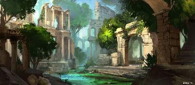 Ruins by darkhikarii-d62obmd