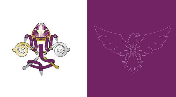 Bandera del Pontificadopsd