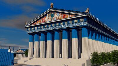 Acropolis de heraclias heracteion reforma azul