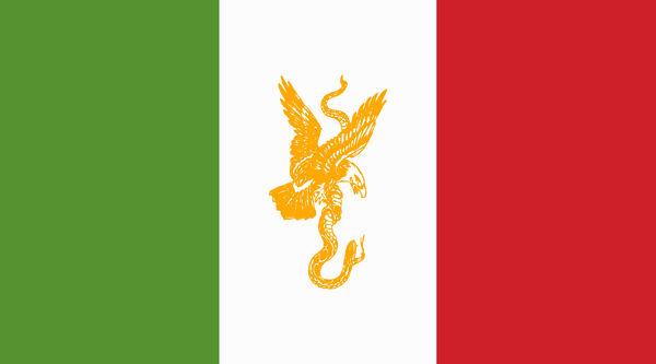 Bandera de la Republica Mexicana