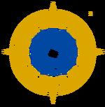 Escudo mesohelenistico de la hegemonia mexicana