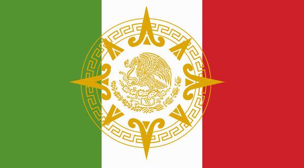 Bandera de la Gran Hegemonia Azteca