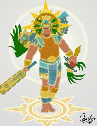 Rey sol mesohelenistico 2.0 color