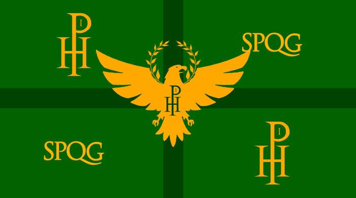 Bandera del Imperio Alderaniano