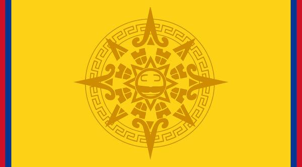 Bandera de la Gran Hegemonia del Dorado