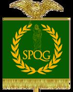 Estandarte del regnum galiorum
