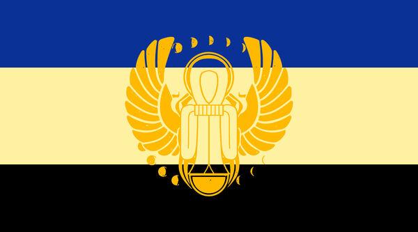 Bandera de Nubia