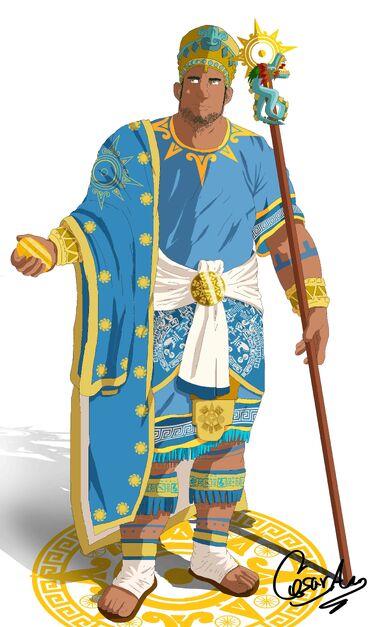 Aeneas rey del sol color