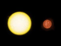 Comparación entre Sol y Gliese 581
