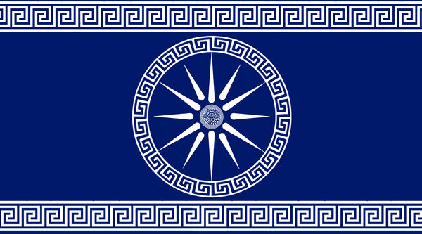 Bandera reino helenistico