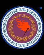 Escudo hoplitico de la prefectura caucasica