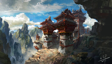 Lost temple by xiaoxinart-d4jfkqv