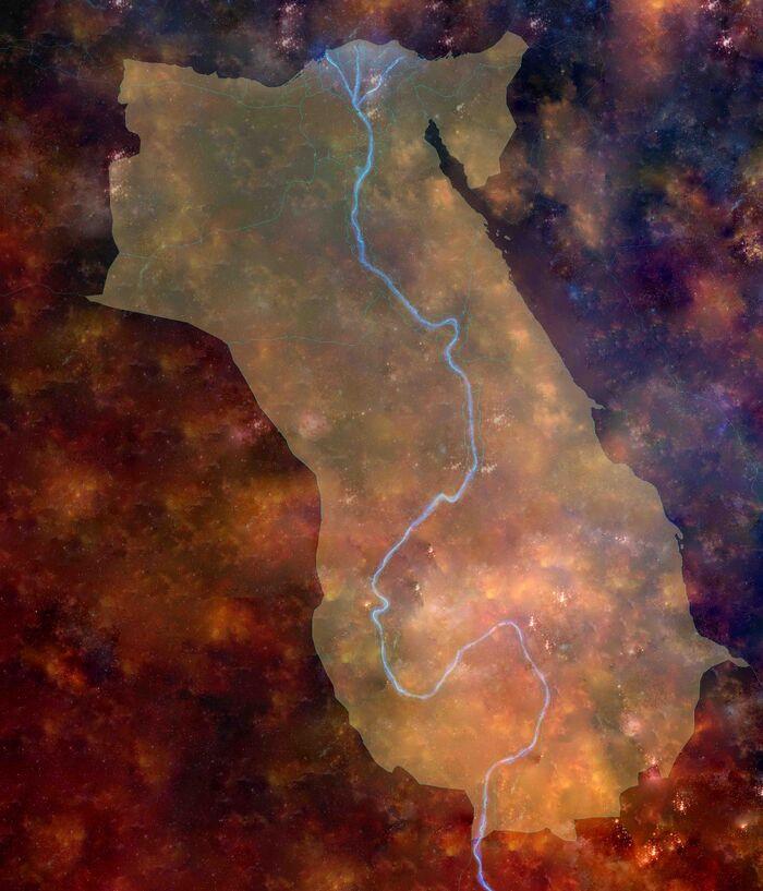 Primer imperio egipcio maxima expansion low