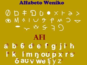 Alfabeto de Wenneniano Moderno