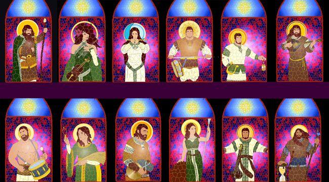 Los 12 divinos completado
