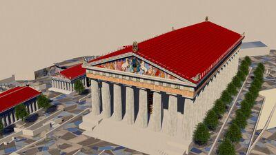Acropolis de heraclias hracteion restaurado