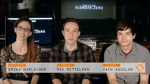 ALDNOAH.ZERO English Cast Special Message Video