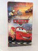 Cars on VHS