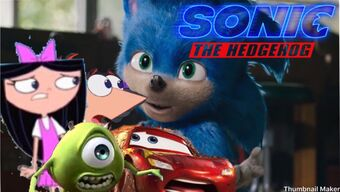 Isabella Phineas Lightning Mcqueen And Mike Wazowski S Reaction To The Sonic Movie Trailer Alec Thaggard Wiki Fandom