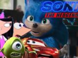 Isabella, Phineas, Lightning McQueen, and Mike Wazowski's Reaction to the Sonic Movie Trailer