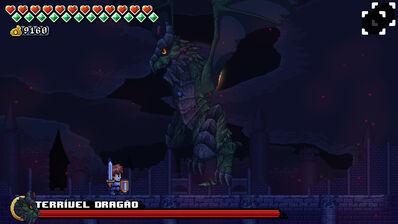 Terrível Dragão Screen