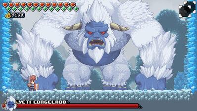 Yeti Congelado Screen