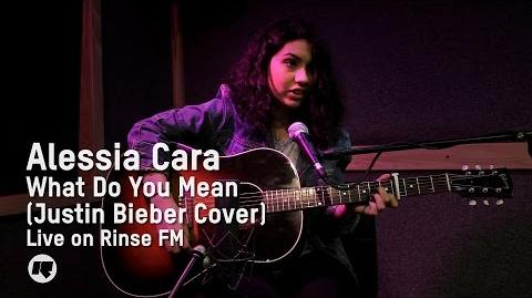Alessia Cara - What Do You Mean? (Justin Bieber Cover) — Live on Drive with Maya Jama