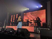 Alessia Cara performing in Sydney